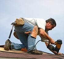 Replacing a roof can often be a bit noisy.