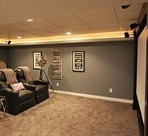 Home Theater - Entertainment Room
