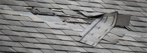 Damaged roof shingles will often lead to a leaky roof and significant damage.