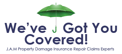 J.A.M - We've Got You Covered. Insurance Claim experts.